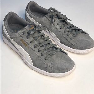 Puma Vikky Suede Softfoam Sneakers Size 8.5